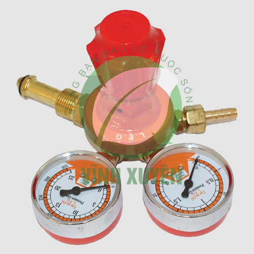 Đồng hồ Gas Thân đồng (Đồng hồ Quả núi)