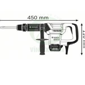 máy đục bê tông GSH 500