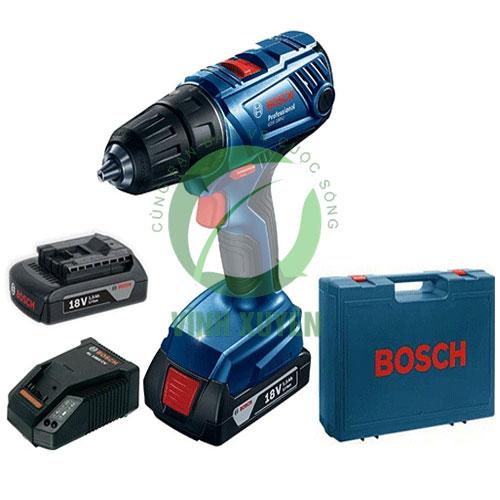 Máy khoan vặn vít dùng pin Bosch GSR180- Li
