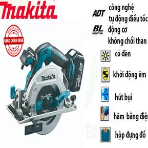 máy cưa đĩa dùng pin makita chính hãng
