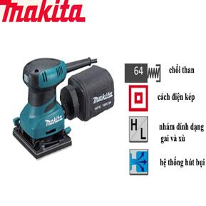 máy chà nhám cầm tay makita chính hãng