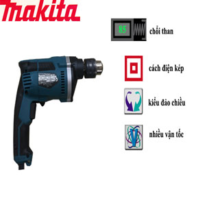 máy khoan búa đầu 16mm makita